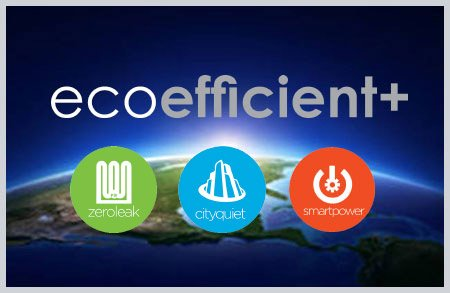 Eco Efficient Plus with Zero Leak, City Quiet and Smart Power